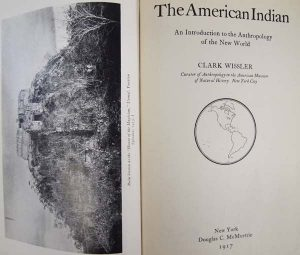 the title page and accompanying picture from the american indian