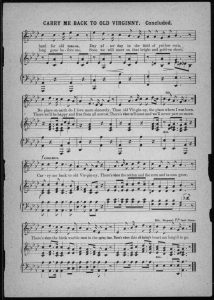 Uncategorized music 345 race identity and representation in carry me back to old virginny notated music composed by james bland httpslocitemihas 200000735 fandeluxe Gallery