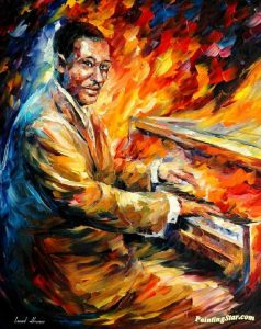 Art of Duke Ellington at the piano