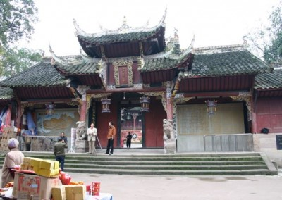 Exterior of Shengshou Temple