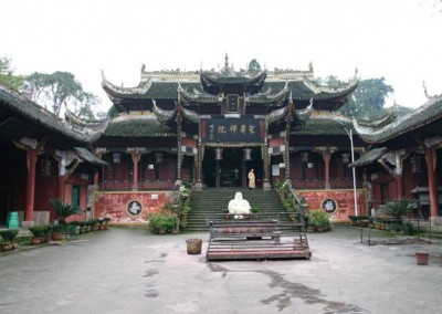 Interior of Shengshou Temple