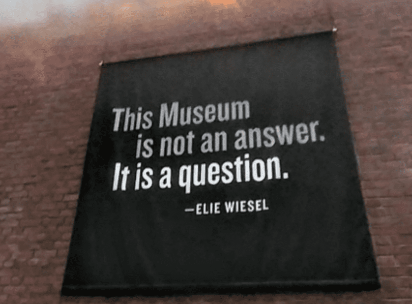 The Museum of Questions, Not Answers