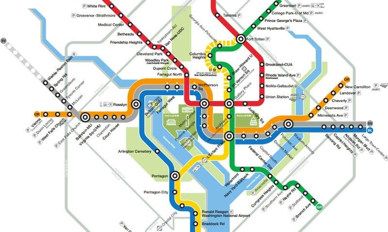 DC Metro Lines: The Definitive Ranking