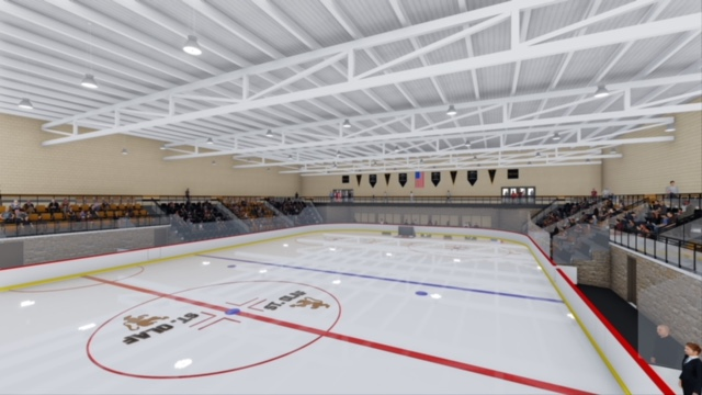 Ice Arena Rendering - Full Color