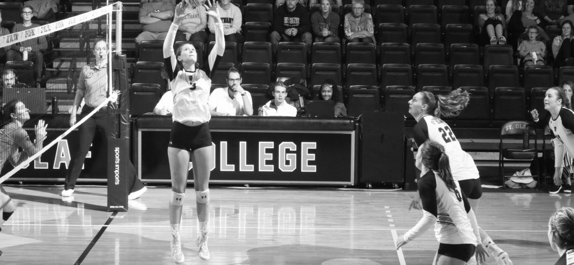9-11 Volleyball (St. Olaf Athletics) (2 of 2)