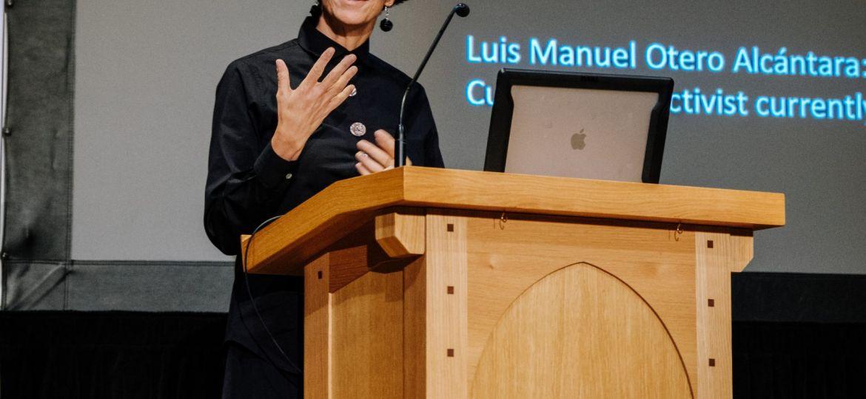 Coco Fusco Lecture (Steven Garcia-Mess) (3 of 6)