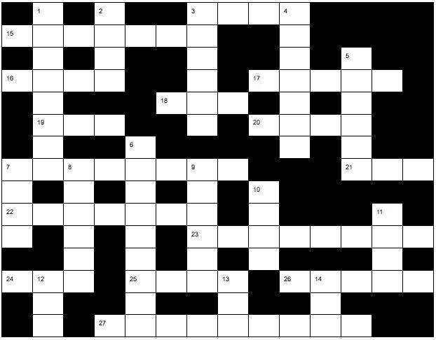 Harper Crossword (3.4)