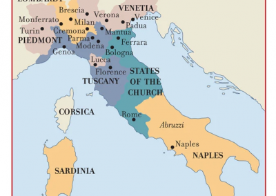 17th Century Music Centers of Italy