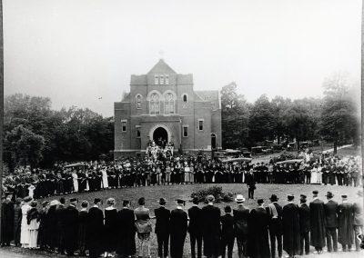 Alumni Pledge Old Main Hoyme Chapel 1919