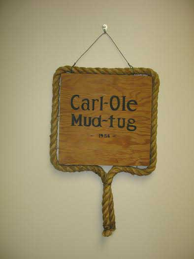 Carl Ole Mud Tug Trophy.