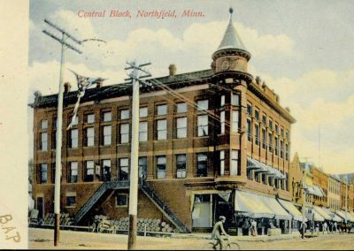 Central Block Postcard