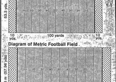 Comparison of Metric to Original Field