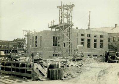 Construction of Post Office