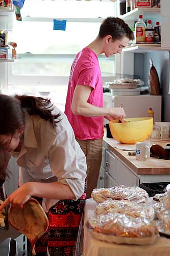 Dacie Moses House Baking