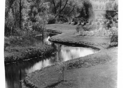 An early picture of the Upper Arboretum