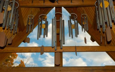 Wind Chime Memorial Tower