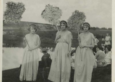 Mai Fete Celebration in 1921