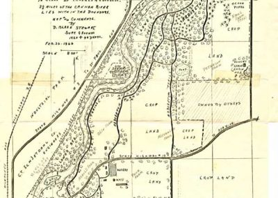 Map of the Arb