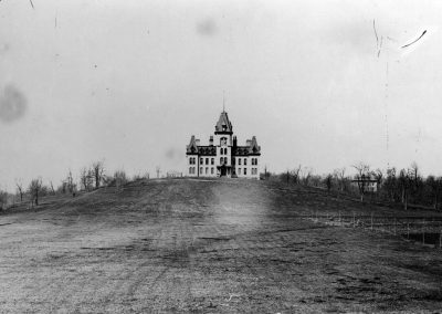 Old Main Lincoln Street 1888