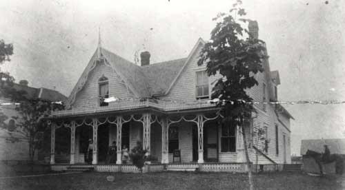 Original Dacie Moses House 1870