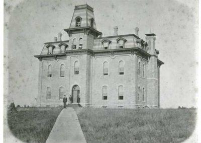 Original Willis Hall c. 1875.
