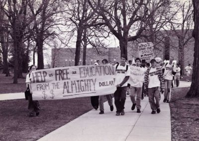 Paracollege Protest 1998