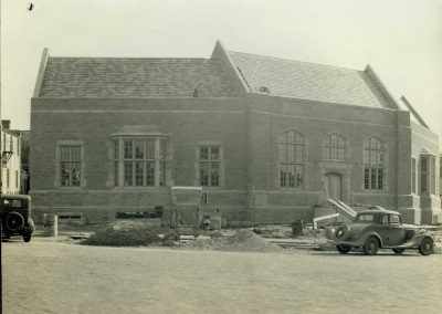 Post Office During Construction