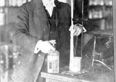 Professor Emil O. Ellingson Chemistry Department