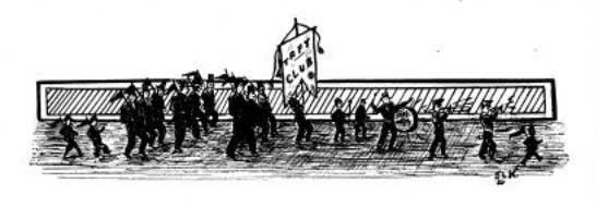 St. Olaf Taft Club Greets Taft (drawing)