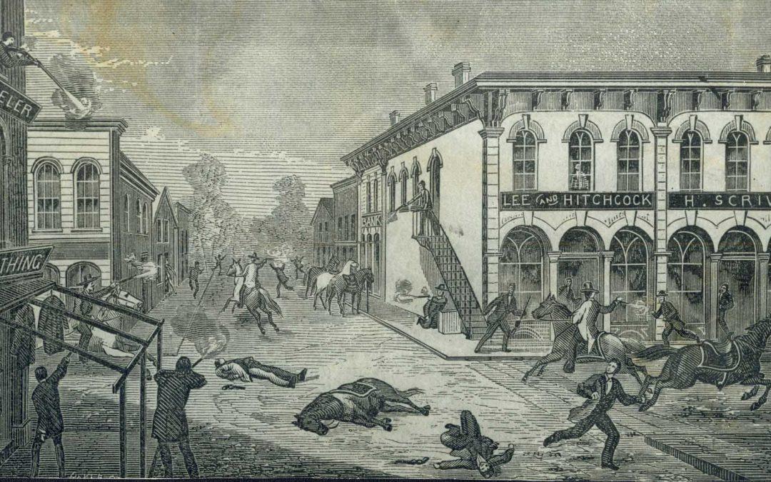 James-Younger Gang Failed 1876 Bank Raid