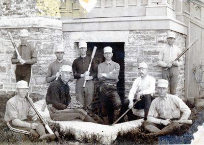 The College Nine, 1888