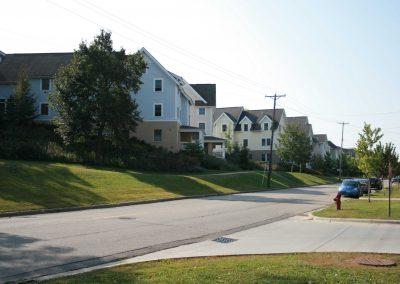 View from Northfield Blvd