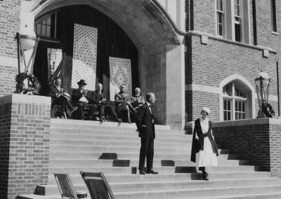 WWI Memorial Service Lamps Dedication 06.12.1922