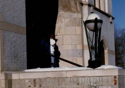 Dedication of the World War I Memorial Service Lamps, June 12, 1922.