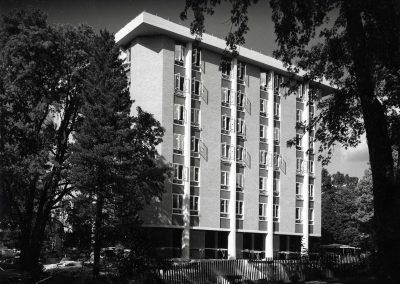 Watson Hall in 1966