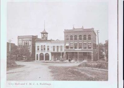 YMCA, Fire Hall, and Nutting Block