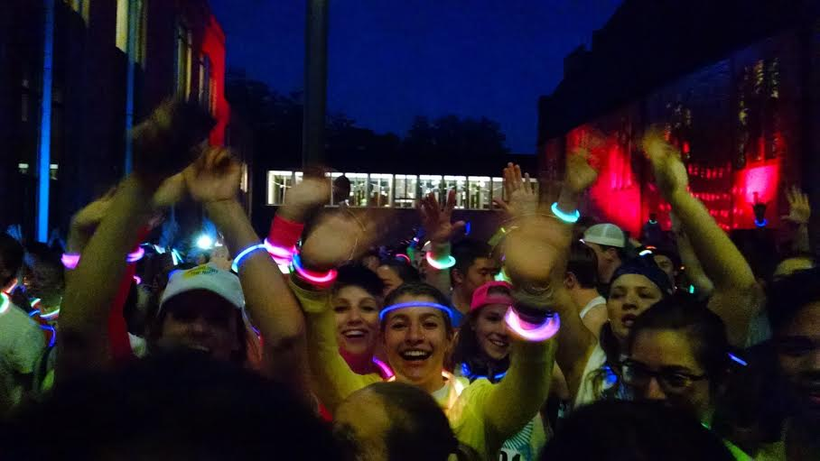 One of the highlights of my freshmen year- the Color Run as part of Olepalooza! on the Hill!