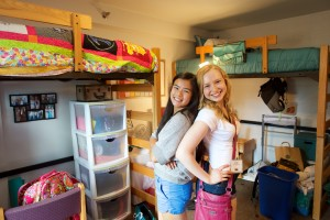 Learn about Week One--and what it's like to live in a first year dorm!