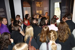 The choir visits the home now museum of Edvard Grieg.