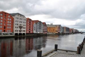 The waterways of Trondheim. Photo credit: Siri Smithback '12