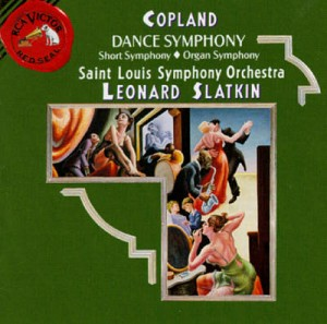 Copland's Dance Symphony was written in 1925 during the height of symphonic jazz.