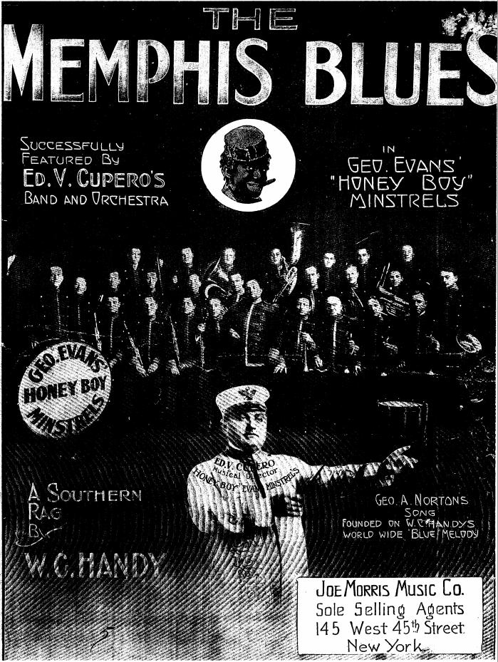 Memphis Blues Norton cover
