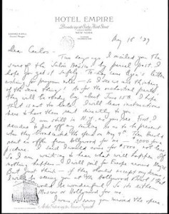 copland letter may 18 1937