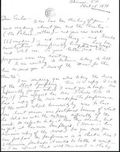 copland letter oct 15 1934