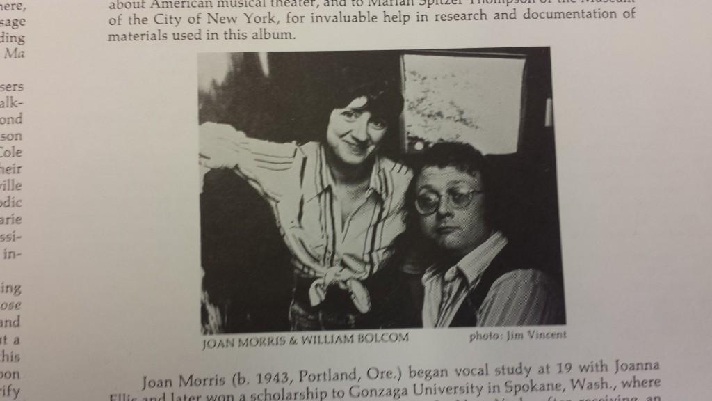 Morris and Bolcom
