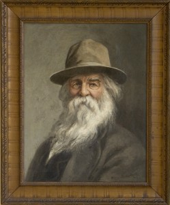 Xanthus Russell Smith's portrait of American writer Walt Whitman