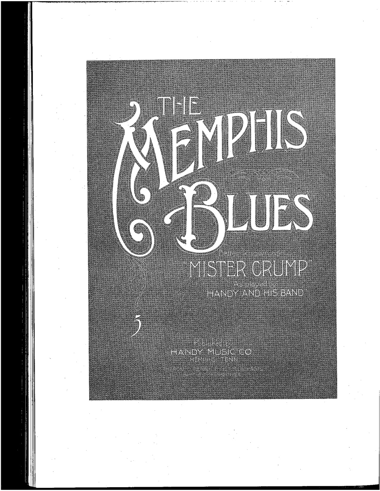 Memphis Blues Music 345 Race Identity And Representation In