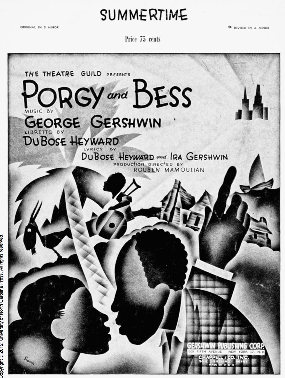 Porgy And Bess Oper