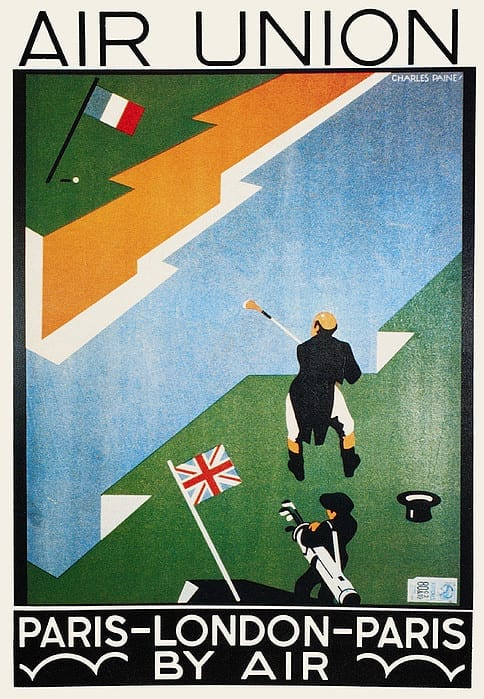 Air Union Poster, 1923