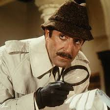 Finding seemingly different pieces of information, then connecting them back to a common source, makes me feel like a detective.  A French detective.  Like Inspector Clouseau. Source: http://www.timeout.com/newyork/film/our-50-favorite-film-fools